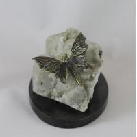 Бабочка крылья эмаль на кальците