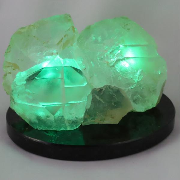 Флюорит с подсветкой
